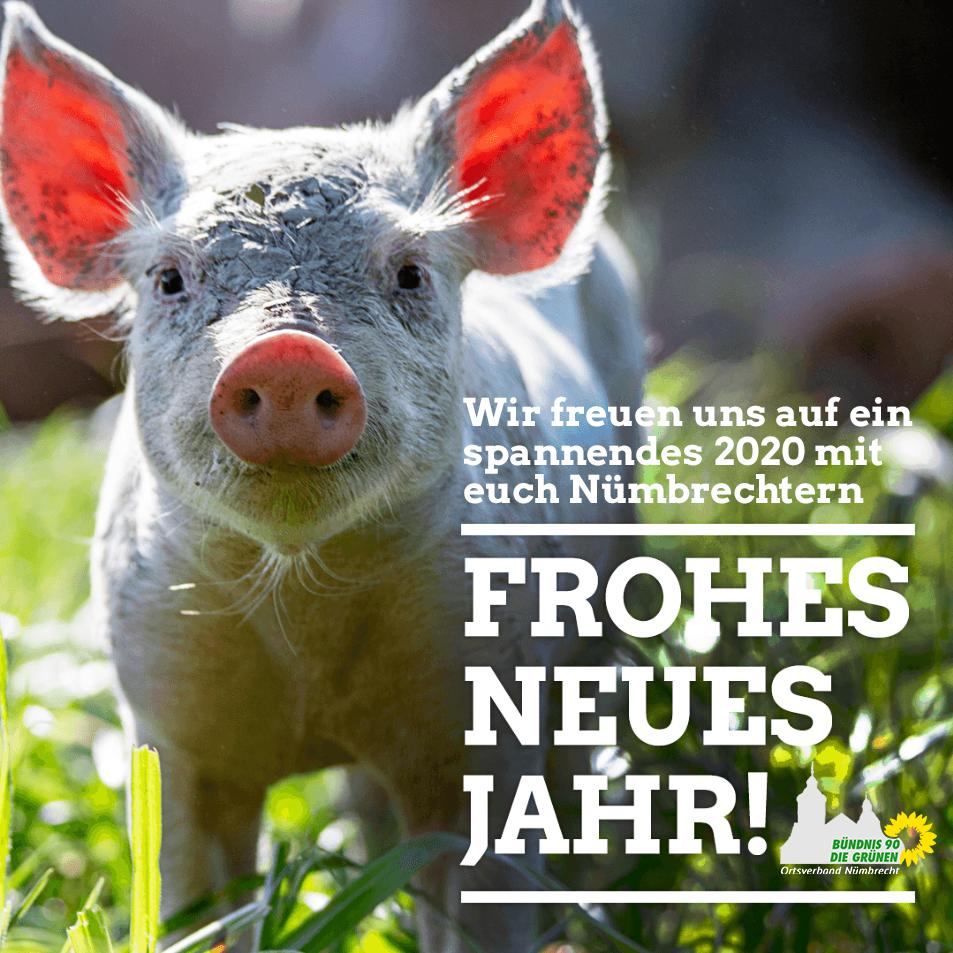 Frohes Neues - Wir freuen uns auf een spannendes 2020 mit euch in Nümbrecht!