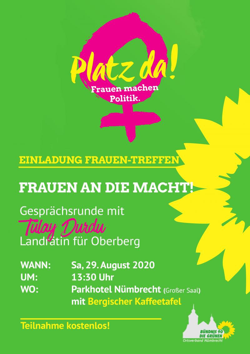Kreis-Frauentreffen der Grünen Oberberg