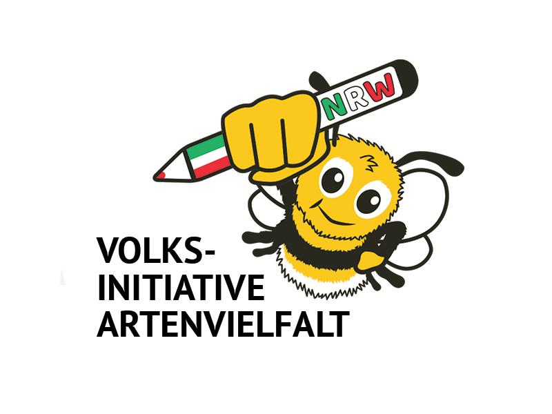 """Volksinitiative Artenvielfalt Viele Arten in unserem Garten, ist eines unserer Mottos. Die Volksinitiative will """"altmodisch"""" Unterschriften für ein Volksbegehren im Landtag NRW sammeln. Unsere Verwaltung lässt Online-Petitionen dazu leider noch nicht zu."""